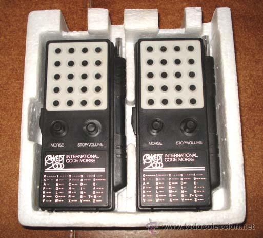 Radios antiguas: ANTIGUOS WALKIE TALKIE - CONCEPT 2000 - EN SU CAJA, DE CONSERVACION. - Foto 2 - 27403684