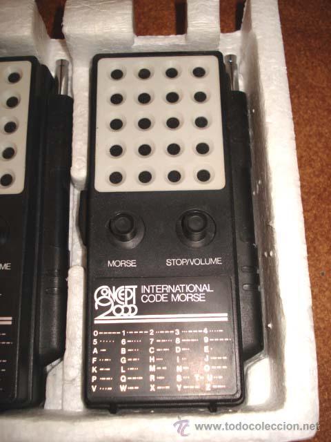 Radios antiguas: ANTIGUOS WALKIE TALKIE - CONCEPT 2000 - EN SU CAJA, DE CONSERVACION. - Foto 3 - 27403684