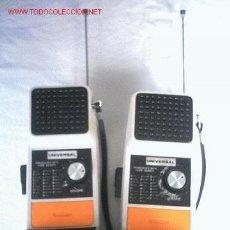 Radios antiguas: ANTIGUA PAREJA DE WALKIES. Lote 25140537