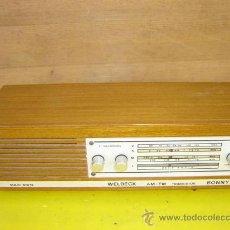 Radios antiguas: TRANSSITOR WELDECK BONNY. Lote 10581049