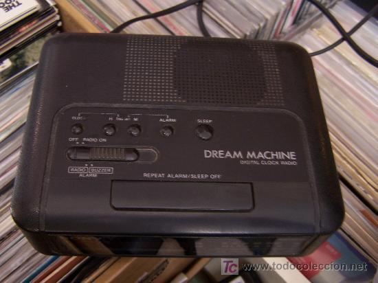 RADIO DESPERTADOR ANTIGUO VINTAGE SONY DREAM MACHINE (Radios, Gramófonos, Grabadoras y Otros - Transistores, Pick-ups y Otros)