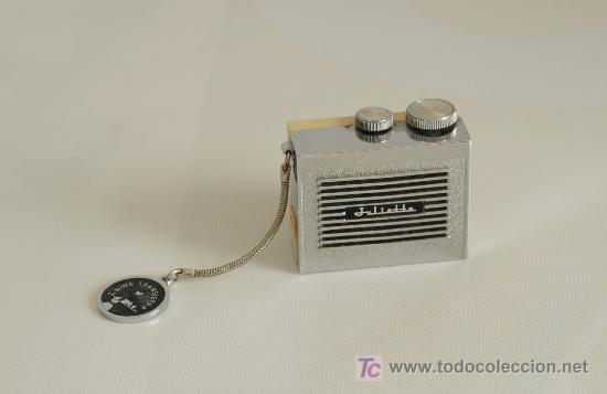 Radios antiguas: Radio de transistores. Julietta. Con estuche. - Foto 2 - 24435395