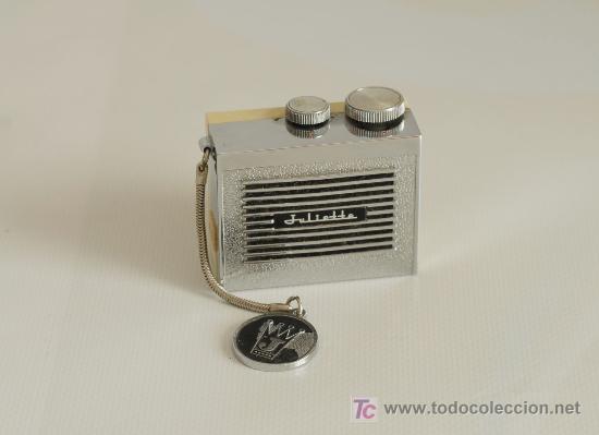Radios antiguas: Radio de transistores. Julietta. Con estuche. - Foto 3 - 24435395