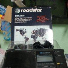 Radios antiguas: RADIO ROADSTAR 4 BANDAS ALIMENTACION ELECTRICIDAD-PILAS. Lote 26174768
