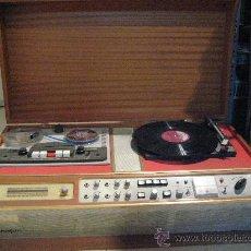 Radios antiguas: MESA PROFESIONAL - RADIO - TOCADISCOS Y MAGNETOFONO DE CINTA ENOFON. Lote 27149989