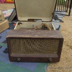 Radios antiguas: ZENITH HI FI TOCADISCOS DE MALETA.. Lote 26871753