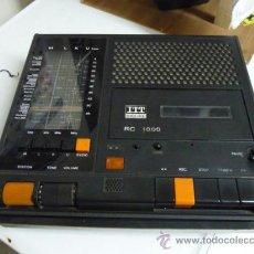 Radios antiguas: RADIO-CASSETTE ITT SHAUB-LORENZ 4 BANDAS M,L,K,U - AÑOS 70 (VER DETALLE). Lote 23462723