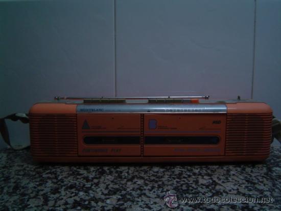 RADIO DOUBLE CASSETTE RECORDER MONTBLANC (Radios, Gramófonos, Grabadoras y Otros - Transistores, Pick-ups y Otros)