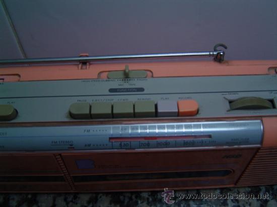 Radios antiguas: RADIO DOUBLE CASSETTE RECORDER MONTBLANC - Foto 3 - 17688609