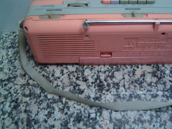 Radios antiguas: RADIO DOUBLE CASSETTE RECORDER MONTBLANC - Foto 5 - 17688609
