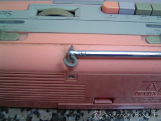 Radios antiguas: RADIO DOUBLE CASSETTE RECORDER MONTBLANC - Foto 6 - 17688609