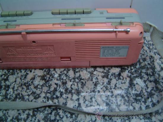 Radios antiguas: RADIO DOUBLE CASSETTE RECORDER MONTBLANC - Foto 7 - 17688609