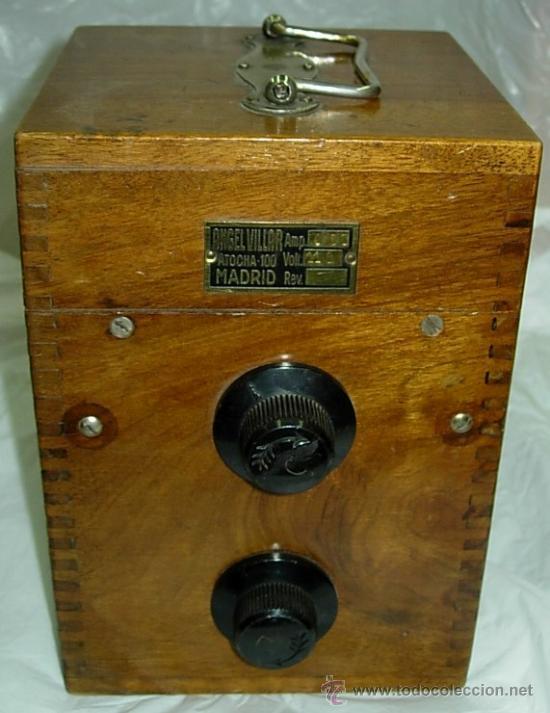 APARATO ANGEL VILLAR (Radios, Gramófonos, Grabadoras y Otros - Transistores, Pick-ups y Otros)