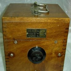 Radios antiguas: APARATO ANGEL VILLAR. Lote 26889730