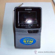 Radios antiguas: MINI TV CASIO 770 N PRACTICAMENTE NUEVA. Lote 45054689