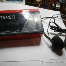 Radios antiguas: ANTIGUO RADIO CASSETTE. Lote 24956418