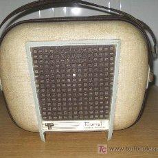 Radios antiguas: TOCADISCOS DE MALETA - TOURIST- - AÑOS 50- 60 - 16,33,45,75 RV.. . Lote 18395455