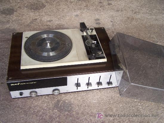 Radios antiguas: Tocadiscos Stibert stereo am-tuner 817 - Foto 4 - 27439238
