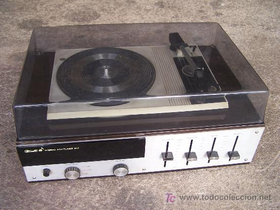 TOCADISCOS STIBERT STEREO AM-TUNER 817 (Radios, Gramófonos, Grabadoras y Otros - Transistores, Pick-ups y Otros)