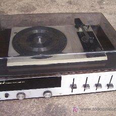 Radios antiguas: TOCADISCOS STIBERT STEREO AM-TUNER 817. Lote 27439238
