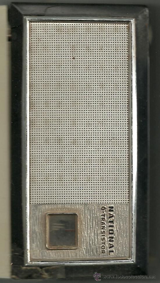 Radios antiguas: TRANSISTOR NATIONAL - Foto 5 - 18868347