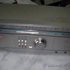 Radios antiguas: EQUIPO COMPUESTO POR DOS MODULOS INDEPENDIENTES DE AMPLIFICADOR Y SINTONIZADOR SILVER 110 W. Lote 22666300