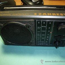 Radios antiguas: RADIO TRANSISTOR UNITRA ORIGEN POLONIA. Lote 23133937