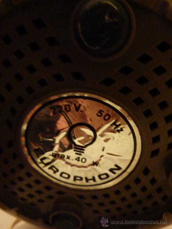 Radios antiguas: radio lampara italiana de los 60 design rampoldi - Foto 3 - 8892651