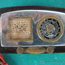 Radios antiguas: RADIO INTER ELÉCTICO MINIATURA. ENCENDEDOR.. Lote 23761391