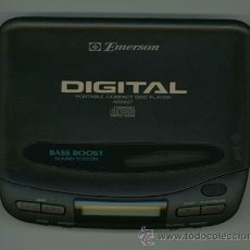 Radios antiguas: LECTOR DIGITAL PORTABLE COMPACT DISC PLAYER - EMERSON.. Lote 26524132