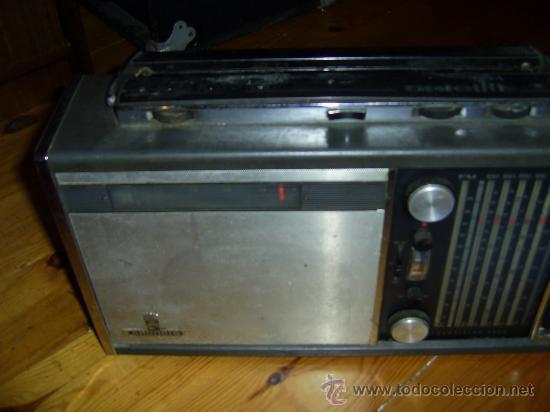 Radios antiguas: RADIO GRUNDIG 205 SATELITT Transistor 5000 - Foto 4 - 186453510