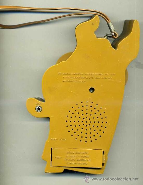Radios antiguas: RADIO TRANSISTOR SCOOBY DOO (1973) - Foto 3 - 27637396