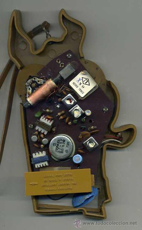Radios antiguas: RADIO TRANSISTOR SCOOBY DOO (1973) - Foto 2 - 27637396