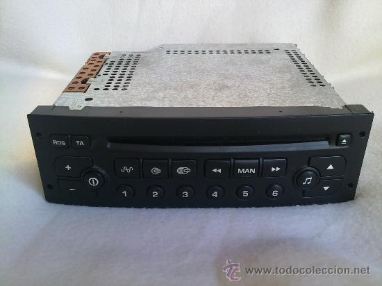 RADIO-CD SIEMENS PARA COCHE (Radios, Gramófonos, Grabadoras y Otros - Transistores, Pick-ups y Otros)