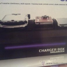 Radios antiguas: CHARGER BOX.CARGA TODOS TU APARATOS CON EL MISMO CARGADOR.CARGA PSP NOKIA CAMARA PHILIPS ETC. Lote 26912980