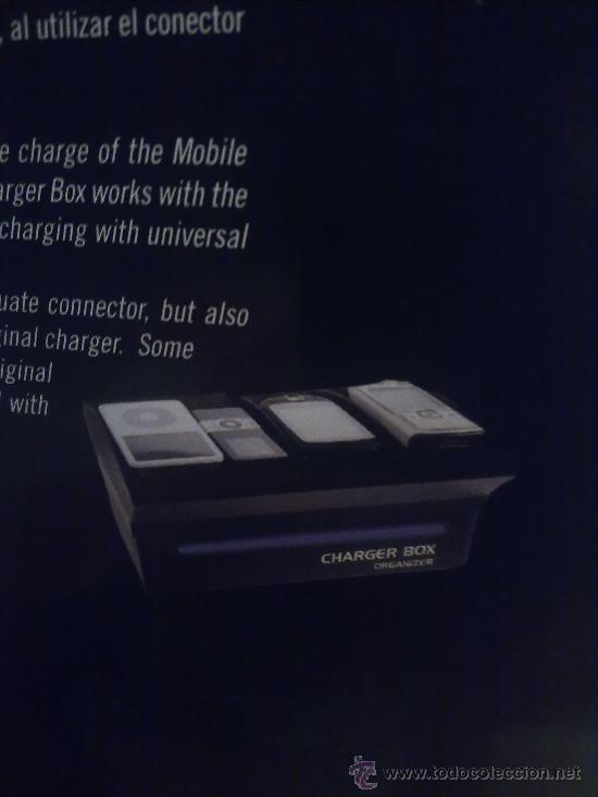 Radios antiguas: CHARGER BOX.carga todos tu aparatos con el mismo cargador.CARGA PSP NOKIA CAMARA PHILIPS ETC - Foto 2 - 26912980