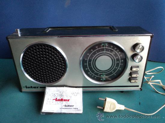 RADIO TRANSISTOR INTER EUROMODUL118/B (Radios, Gramófonos, Grabadoras y Otros - Transistores, Pick-ups y Otros)