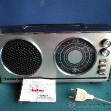 Radios antiguas: RADIO TRANSISTOR INTER EUROMODUL118/B. Lote 27235316