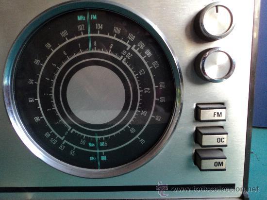 Radios antiguas: RADIO TRANSISTOR INTER EUROMODUL118/B - Foto 2 - 27235316