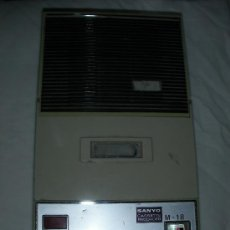 Radios antiguas: SANYO CASSETTE RECORDER. Lote 100416022