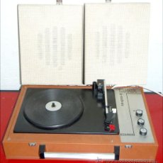Radios antiguas: TOCADISCOS LUMA GARRARD. Lote 27373469