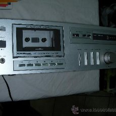 Radios antiguas: ANTIGUO CASSETTE ESTEREO NORDMENDE PARA CINTAS MOD. CD 1001. Lote 168325498