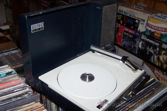 Radios antiguas: Tocadiscos de maleta Pick up philips Muy raro - Foto 5 - 27520137