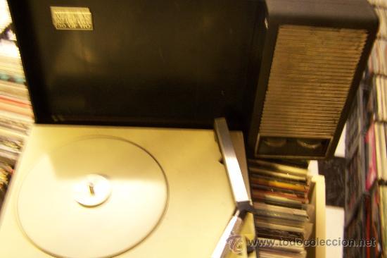 Radios antiguas: Tocadiscos de maleta Pick up philips Muy raro - Foto 4 - 27520137
