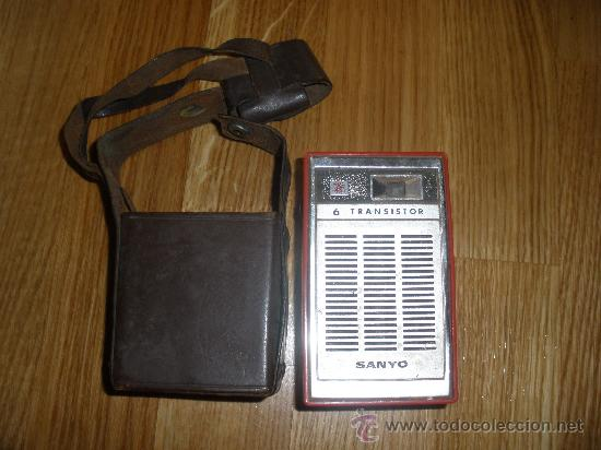 Radios antiguas: RADIO SANYO CON SU FUNDA - Foto 6 - 28325095