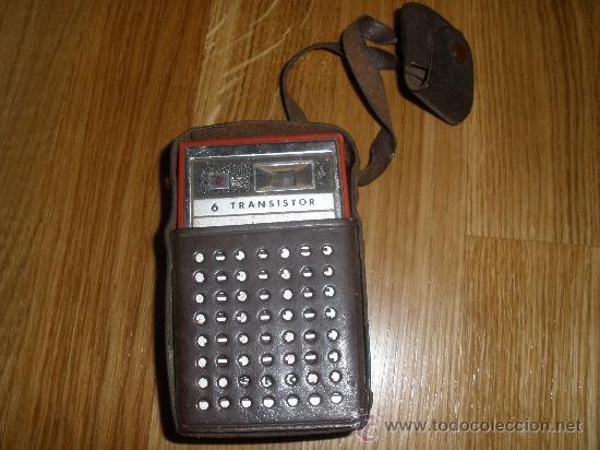 Radios antiguas: RADIO SANYO CON SU FUNDA - Foto 2 - 28325095