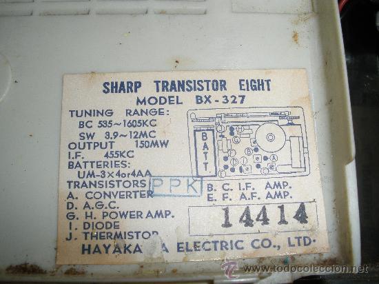 Radios antiguas: RADIO SARPP - Foto 5 - 28325084