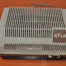 Radios antiguas: ESTABILIZADOR TRANSFORMADOR DE CORRIENTE MARCA ATLAS. Lote 28631789