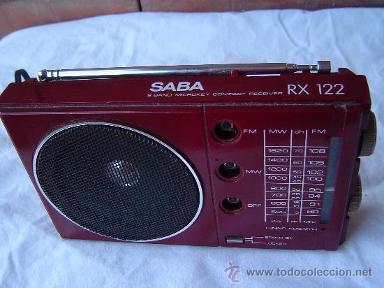 TRANSISTOR SABA RX 122 (Radios, Gramófonos, Grabadoras y Otros - Transistores, Pick-ups y Otros)