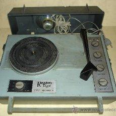 Radios antiguas: PICK-UPS - READER´S DIGEST 405 ALL TRANSISTORS - PORTATIL - AÑOS 60/70. Lote 28812242
